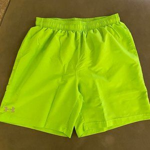 Under Armor Fitted Short w/ Zipper Pocket